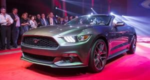 2015 Ford Mustang reveiled
