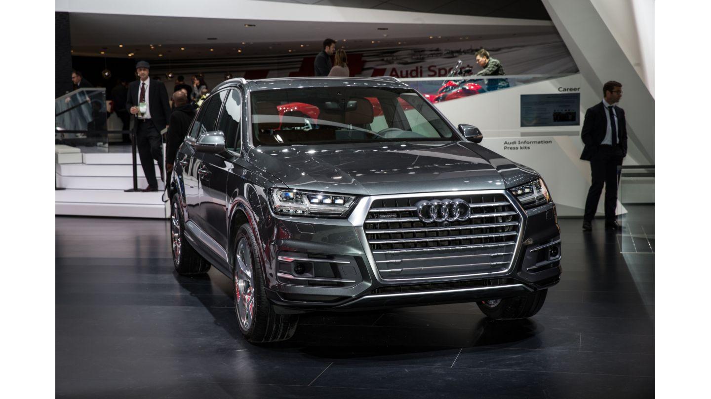 Audi 2016 audi q7 : Smarter, lighter, more spacious Audi Q7 debuts in Detroit ...