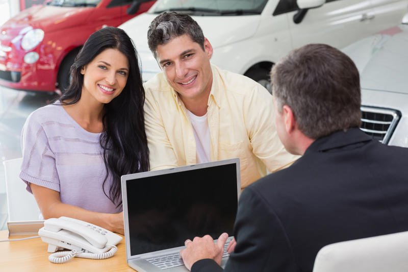 negotiating the price of a new car