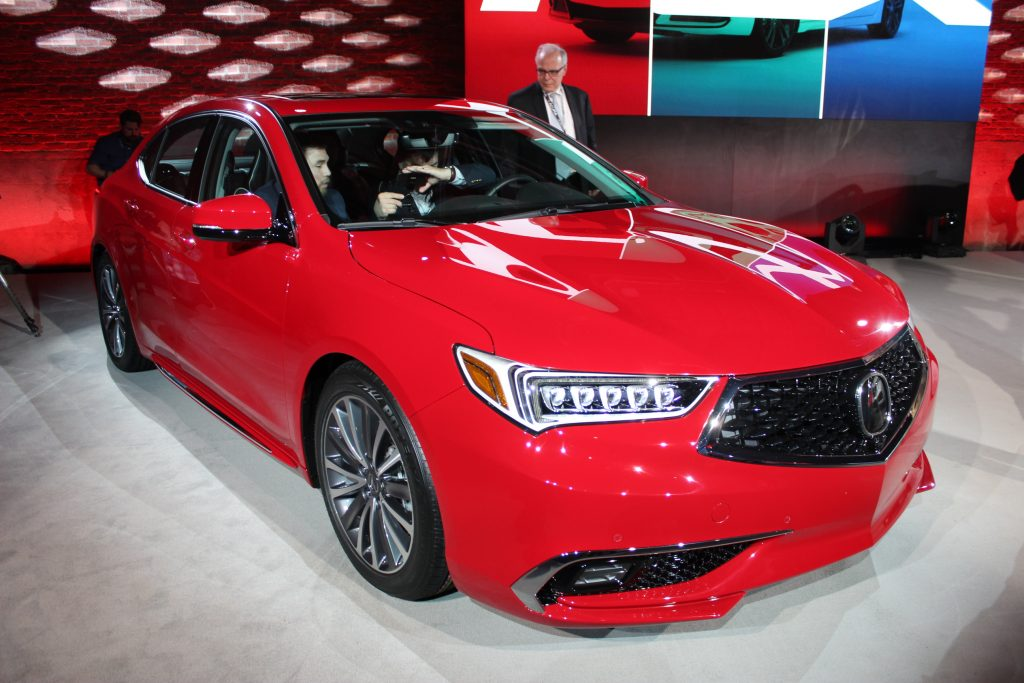 Fantastic The 2018 Acura TLX Is Unveiled Ahead Of The New York Auto