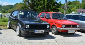 VW Golf Cabrio MK1 black-black