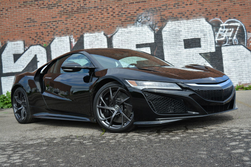 CAR REVIEW: 2017 Acura NSX