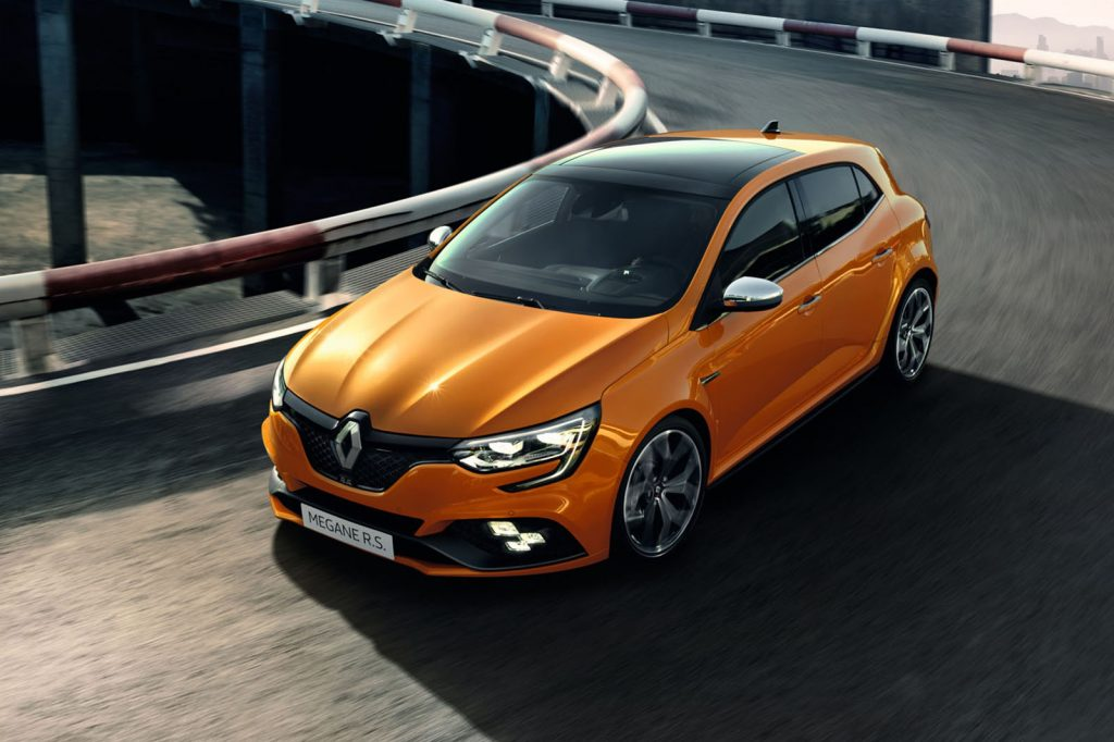 frankfurt the renault megane rs is a rival of the civic type r that we won t get. Black Bedroom Furniture Sets. Home Design Ideas