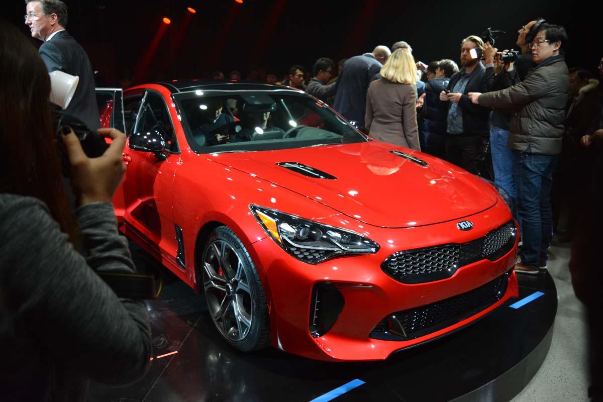 The 2018 Kia Stinger GT starting at $ 44,995
