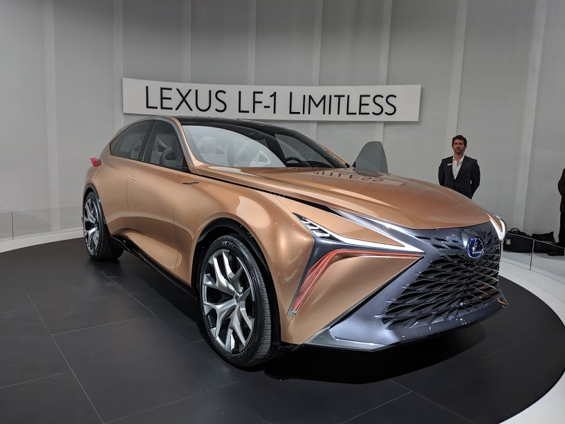 the lexus lf 1 limitless is born in detroit luxurycarmagazine en. Black Bedroom Furniture Sets. Home Design Ideas