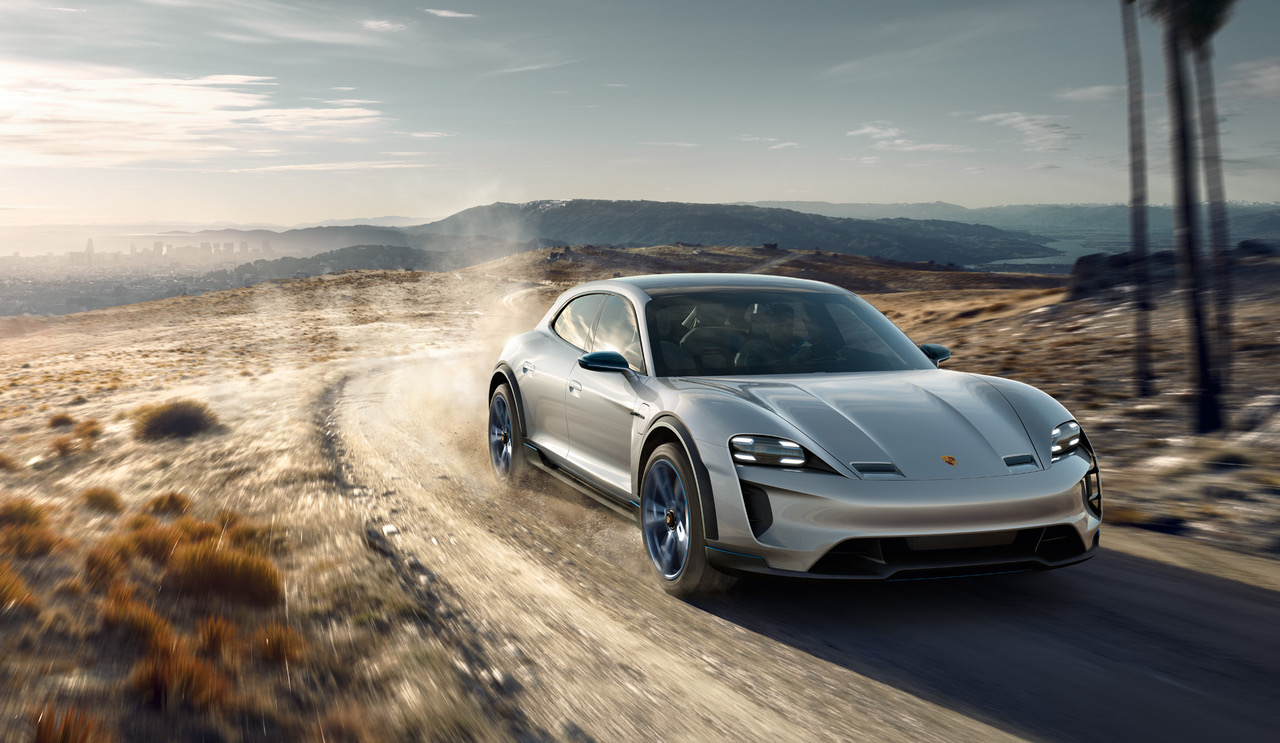 A Wagon Version Of The Mission E The Porsche Mission E Cross Turismo Unveiled In Geneva
