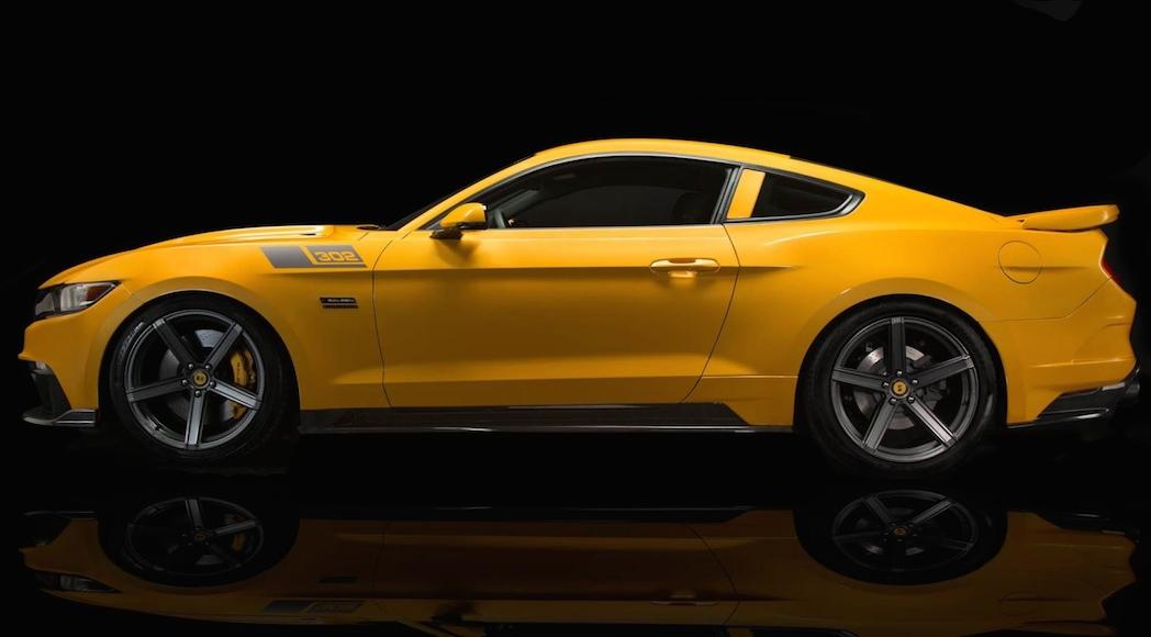 Saleen S302 Black Label Mustang 2015
