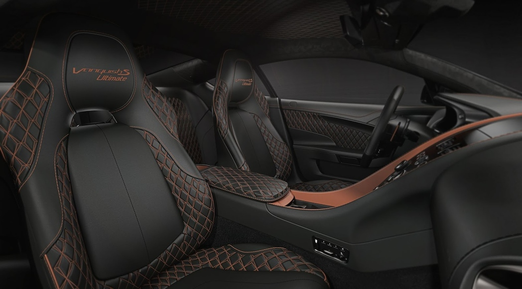 Aston Martin Vanquish S Ultimate 2019