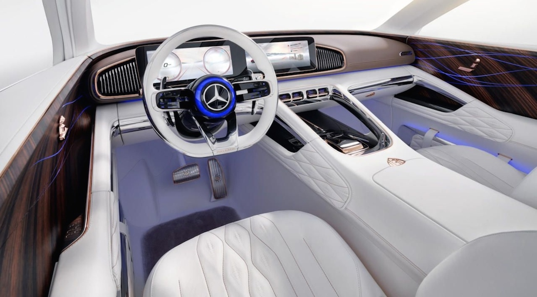Mercedes-Maybach Ultimate Luxury Concept 2018
