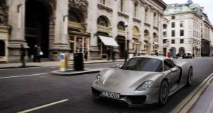 Les faits saillants de la Porsche 918