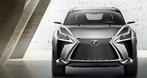 Le Lexus LF-NX Concept