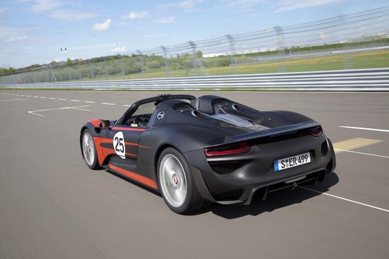 Porsche 918 9