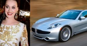 Katy Perry achète 5 Fisker Karma, plusieurs doutent de la nouvelle