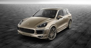 Porsche dévoile une version Exclusive du Cayenne S
