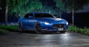 Novitec Tridente s'en prend à la Maserati Quattroporte