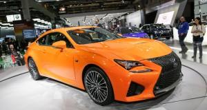 Les deux Lexus les plus récentes au Salon de l'Auto de Montréal