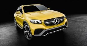 Mercedes-Benz GLC Coupe Concept, à l'attaque du X4