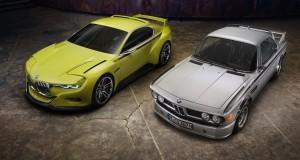 Le BMW 3.0 CSL Hommage Concept se pointe Villa d'Este