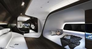Mercedes-Benz et Lufthansa fonds une cabine d'avion ultra-VIP