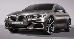 BMW Compact Sedan Concept, parlez Série 1