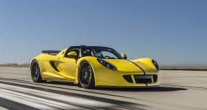 Hennessey Venom GT Spyder, le cabriolet le plus rapide au monde