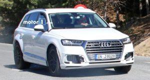 C'est parti pour le développement de l'Audi Q8 2018