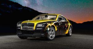 La Rolls-Royce Wraith d'Antonio Brown à l'ère spatial