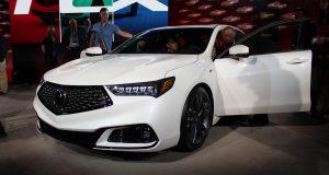 L'Acura TLX 2018 dévoilée dans le cadre du Salon de l'Auto de New York