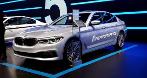Place à la BMW série 5 iPerformance au salon de New York