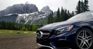 CabrioCanada 150 avec Mercedes-Benz: au pied des Rocheuses