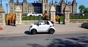 CabrioCanada 150 de Mercedes-Benz: le Québec en smart et en SL