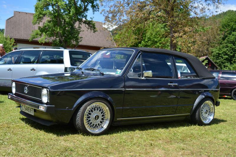 Volkswagen Golf Cabrio MK1 Noir