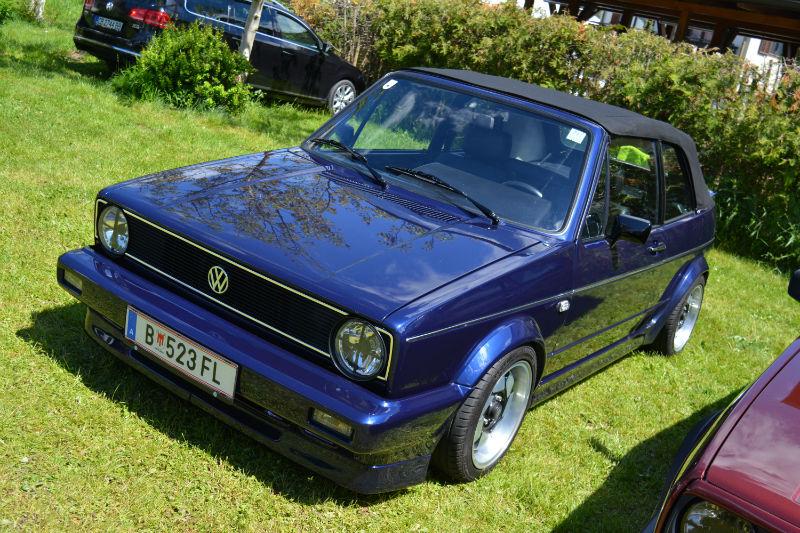 Volkswagen Golf Cabrio MK1 Bleu