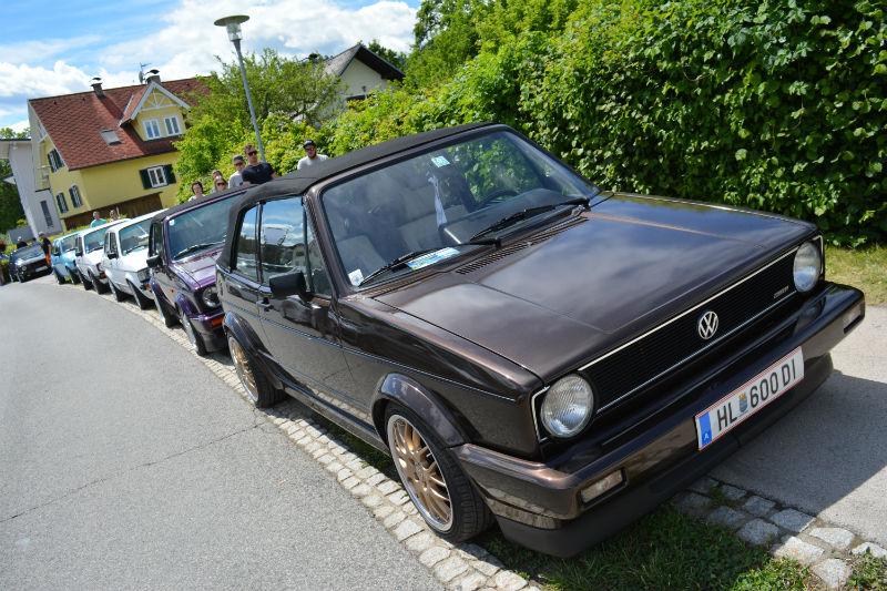 Volkswagen Golf Cabrio MK1 Brun