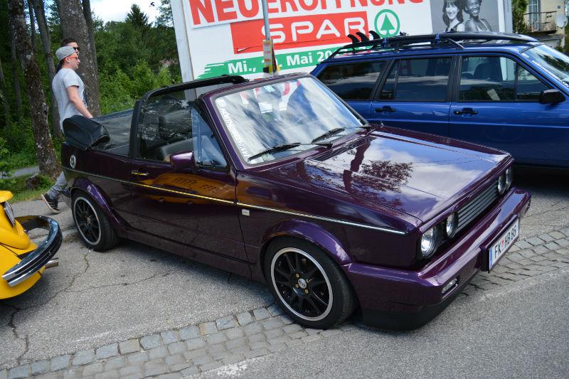 Volkswagen Golf Cabrio MK1 Mauve