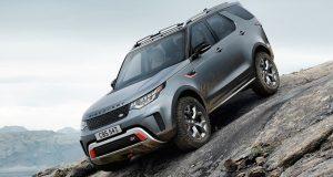 FRANCFORT: Land Rover Discovery SVX 2018 : V8 et Hors-route