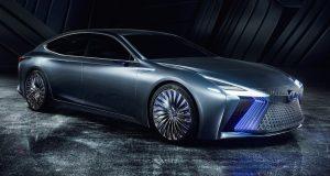 Salon de Tokyo : Lexus LS+ Concept : futur technologique