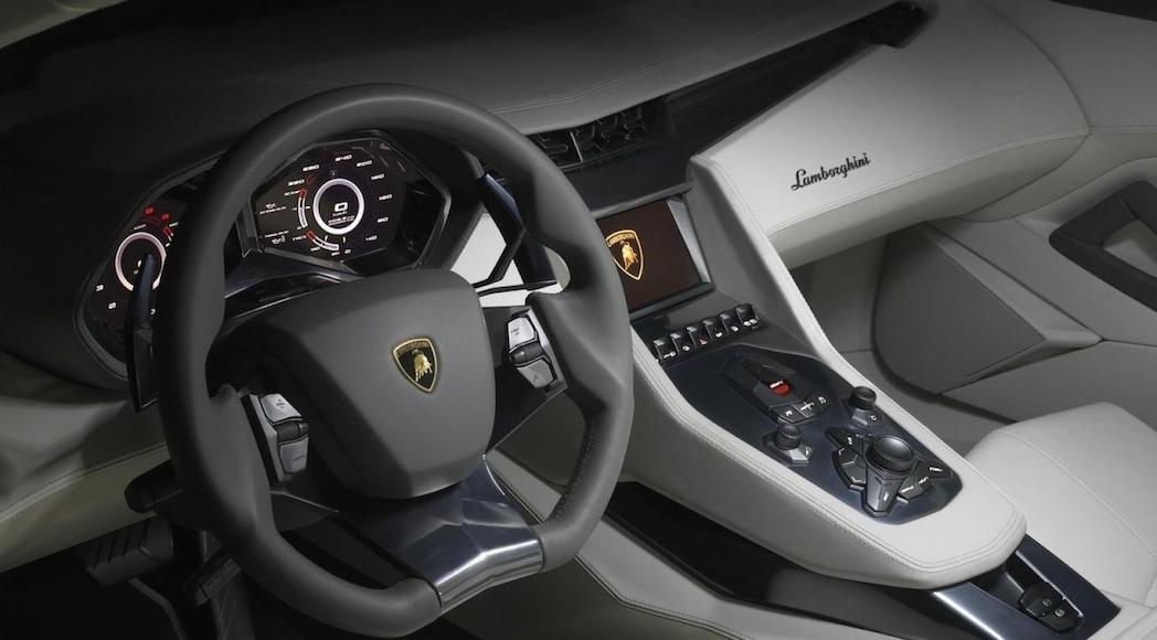 2017 Lamborghini Estoque interior design