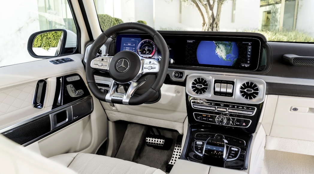 Actualit Auto Le Mercedes Amg G63 2019 Se Pointe Avant Gen Ve Luxury Car Magazine