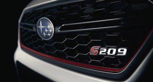 La Subaru WRX STI S209 s'amène au Salon de l'Auto de Détroit