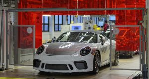 Le dernier exemplaire Porsche 911 de génération 991 est un modèle Speedster
