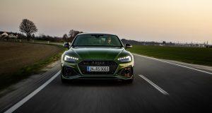 Quelques ajustements esthétiques et technologiques pour l'Audi RS 5 2021