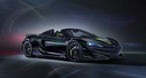 McLaren 600LT Spider Segestria Borealis: arachno-rapide!