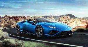 Lamborghini Huracán Evo Spyder : propulsion cabriolet