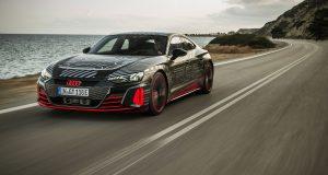 L'Audi e-tron GT à la façon RS développe 684 chevaux