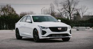 Cadillac CT4-V 2020 : pas besoin d'être parfaite pour se démarquer