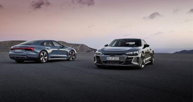 Voici la nouvelle Audi e-tron GT 2022!
